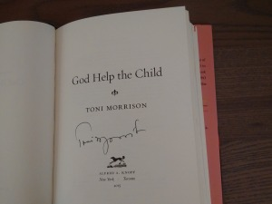Signed copy of GHTC