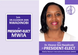 Dr. Eleanor Nwadinobi President-Elect MWIA Flyer 1